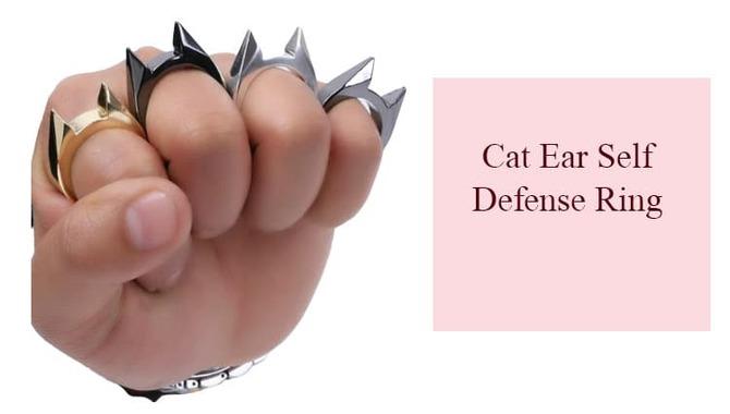 Cat Ear Self Defense Ring