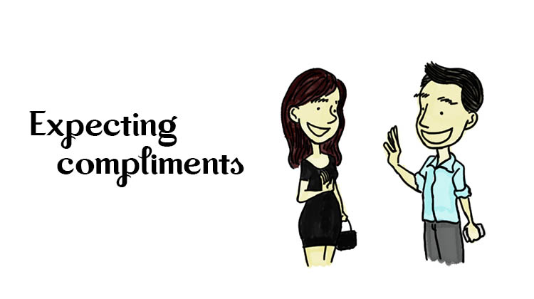Expecting-compliments
