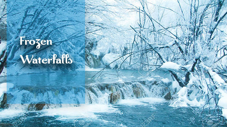Frozen-Waterfalls