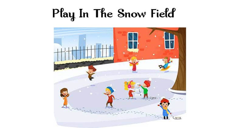 Play-In-The-Snow-Field