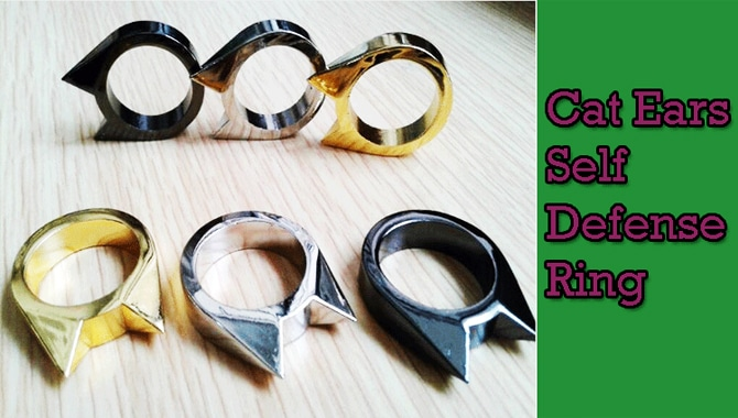 Things To Look Out When Selecting A Self Defense Ring