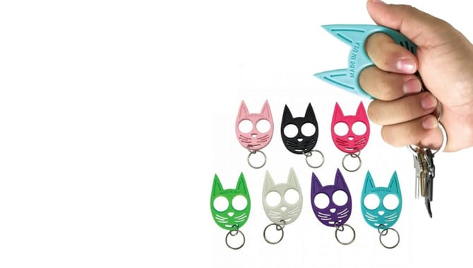 What is Self Defense Keychain Cat
