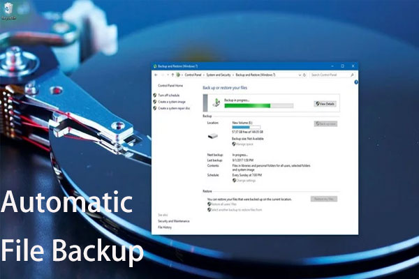 Backup From Third-Party Software