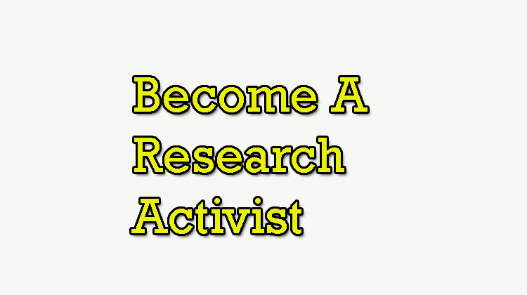 Become-A-Research-Activist