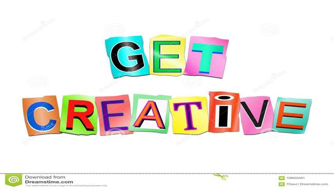 14.Get Creative