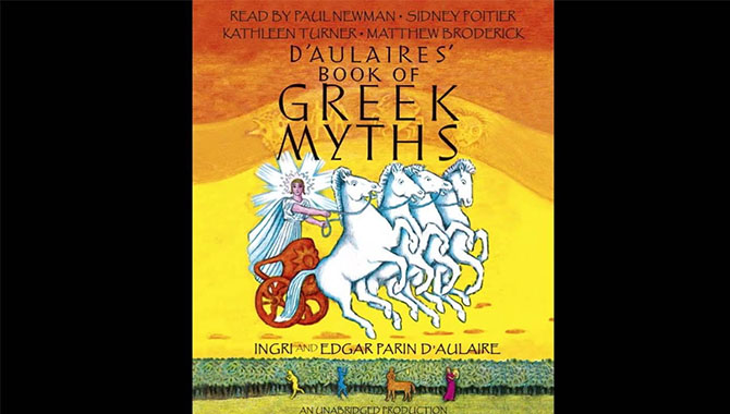 5.D'Aulaires Book of Greek Myths