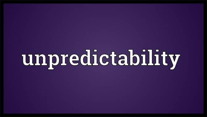 3.Unpredictability
