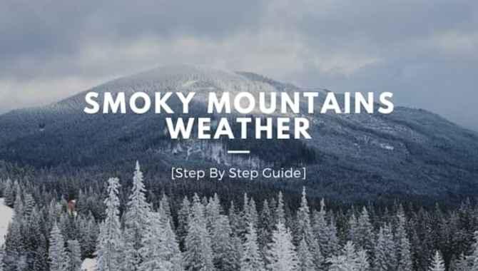 Smoky Mountains Weather