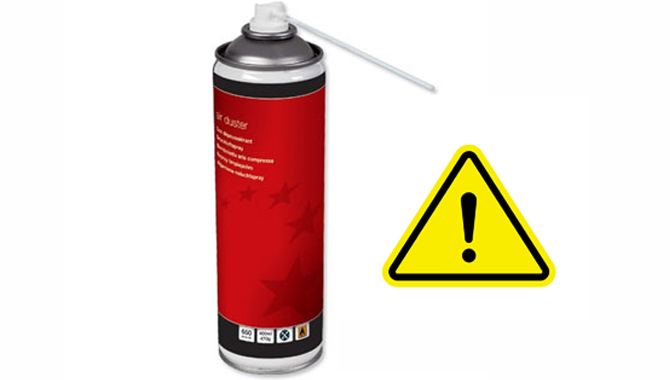 Use Compressed Air With Caution