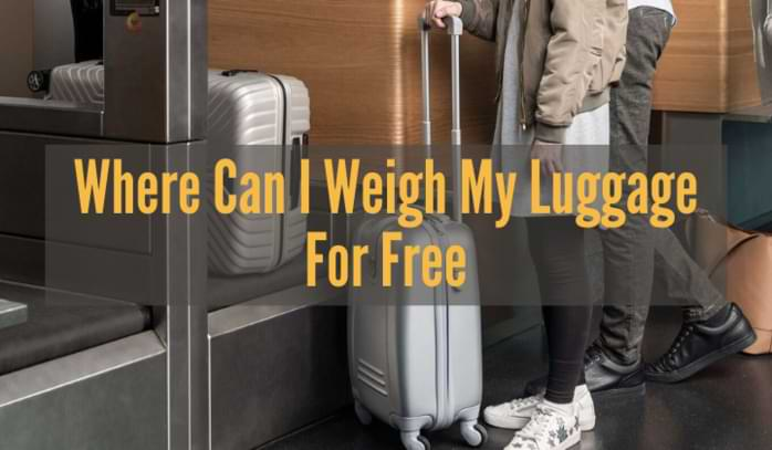 Where Can I Weigh My Luggage