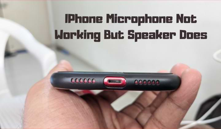 iPhone External Microphone Not Working