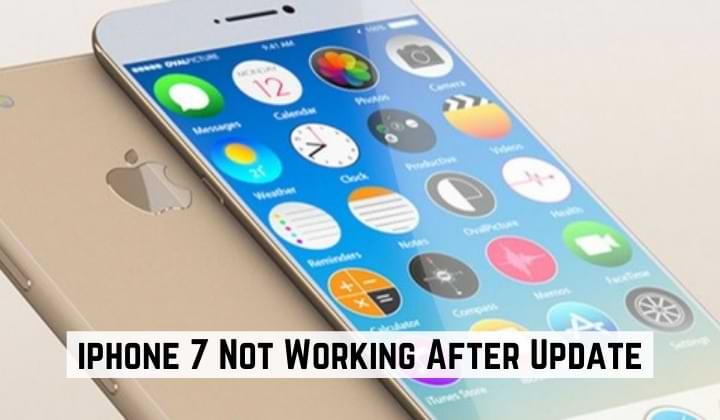 iphone 7 Not Working After Update