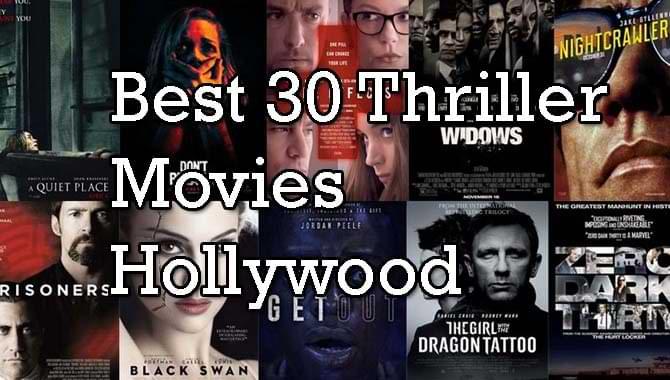 Best Thriller Movies Hollywood