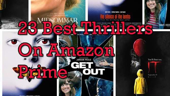 best thrillers on amazon prime